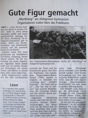 Rezension aus dem Soester Anzeiger (08.06.11)