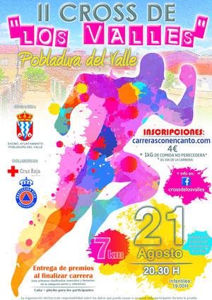 II CROSS DE LOS VALLES - Pobladura del Valle, 21-08-2015