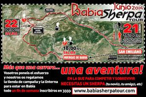 BABIA SHERPA TOUR - 21 y 22-06-2014