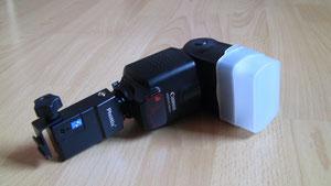 Canon Speedlite 430EX II Blitzgerät mit Empfänger