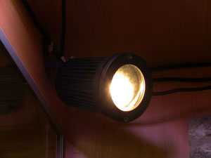 Der Hotspot - eine Halogen Lampe