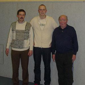 von links: Gerold Hohe (Vorsitzender TVO), Volker Kohlhepp, Manfred Herbst