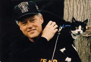 Socks y Bill Clinton
