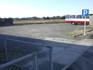 大駐車場完備