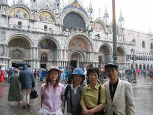 2003年9月9日ヴェネティア サンマルコ広場