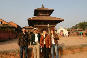 2005年11月19日ネパール バクタブル