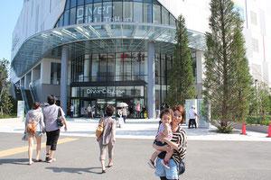 4月にオープンしたばかりのダイバーシティ東京 プラザ