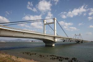 4月25日に開通した阿波しらさぎ大橋(徳島県のHPより)