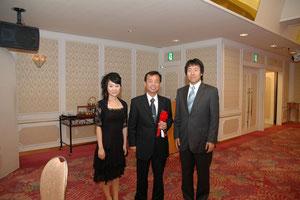 2007年8月4日 社長就任祝賀会