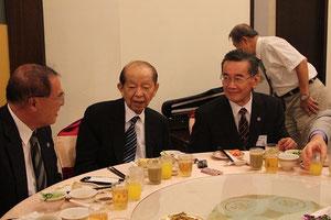 志村教授、許文龍会長、森理事長