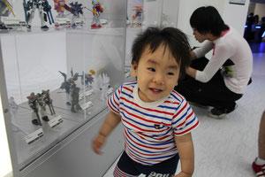 7階ガンダムフロント東京の模型展示室