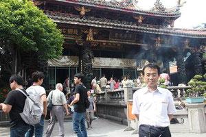 台北最古の龍山寺