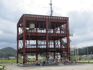 南三陸町志津川の防災対策庁舎