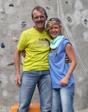 Mit Simone Moro auf der Reel Rock Premiere in Stuttgart