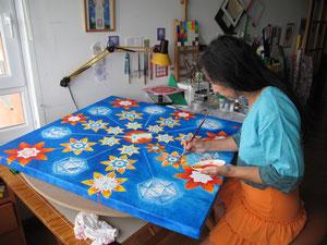 Mandala Nupcial de Magia y Florecimiento