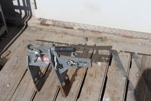 Pflasterhebezange 20 cm für Minibagger