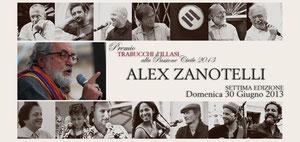 Alez Zanotelli premiato Trabucchi 2013