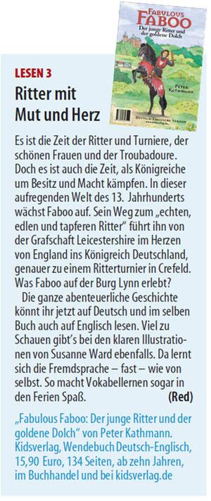 Kinderseite Westdeutsche Zeitung Düsseldorf