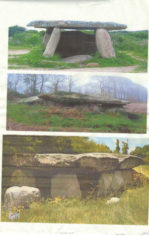 dolmen en Bretagne
