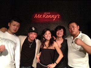 素晴らしいメンバー!またKenny'sへのご出演お待ちしています!