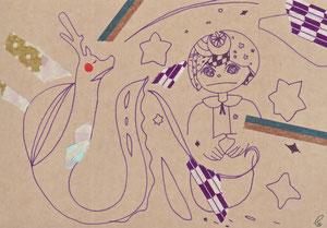 聴かせてあげよう/モダンクラフト紙 ピグマグラフィック 彩 マスキングテープ 2011,9.24