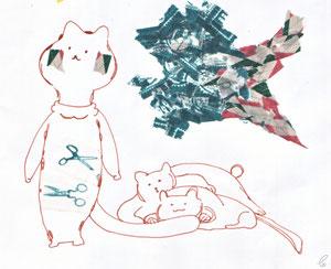 みろよあいつ/ネオピコライン マスキングテープ 2011,10.22