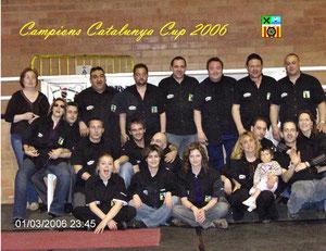 CAMPEONES CATALUNYA CUP 2006