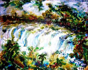 86 Iquasu - Wasserfälle ÖL klein