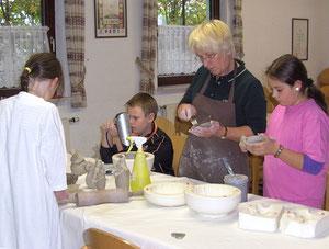 Gudrun Mohr, Keramik