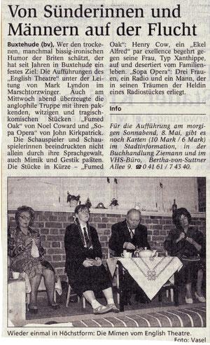 Buxtehuder Tageblatt, 7.5.1999