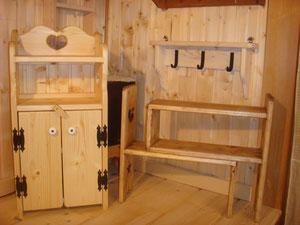 カントリー木工作品