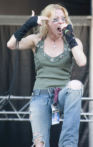 Angela Gossow ( Arch Enemy)