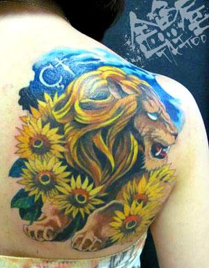 ライオン ヒマワリ 花言葉 意味 カラー