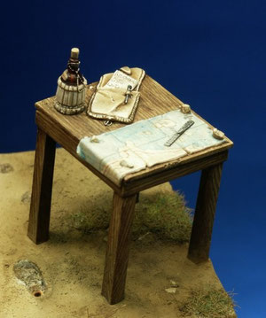 Tavolino e accessori