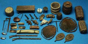 Accessori coloniali guerra franco-indiane