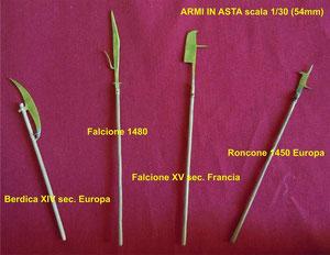 Armi medievali in asta