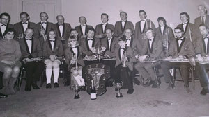 1971 When the Band won First Major Trophy at City of Nottingham Open Brass Band Contest