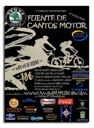 V MARCHA MOUNTAIN BIKE FUENTE DE CANTOS MOTOR SKODA