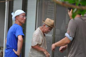 左-中島さん       中央-鯉江先生