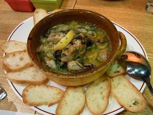牡蠣とゆり根のオイル煮