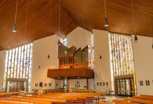 Die Orgel in St. Marien