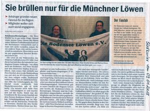 Artikel des Südkuriers vom 03.01.2013