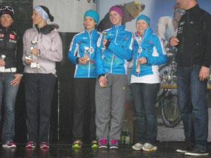 2.Platz für unsere girls beim 1. Bewerb!