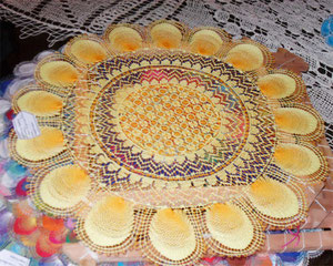 tejido Ñanduti de Paraguay