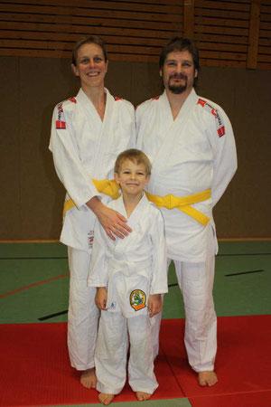 Manuela, Helge und Marcel Borgwardt