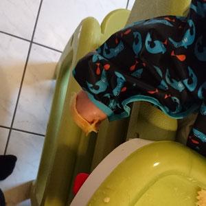 #12von12 #9von12 BLW Baby Led Weaning Abendessen Mittagessen Ravioli
