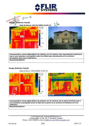 Rapport Thermique page 2 voir site www.maisonnonconforme.fr
