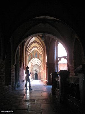 Bemerkenswertes Malbork: architektonische Meisterleistungen - immer wieder bis ins kleinste Element - durchdringen die gesamte Burganlage