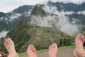 Über Machu Picchu...