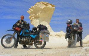 Weiße Wüste - Ägypten - 2009